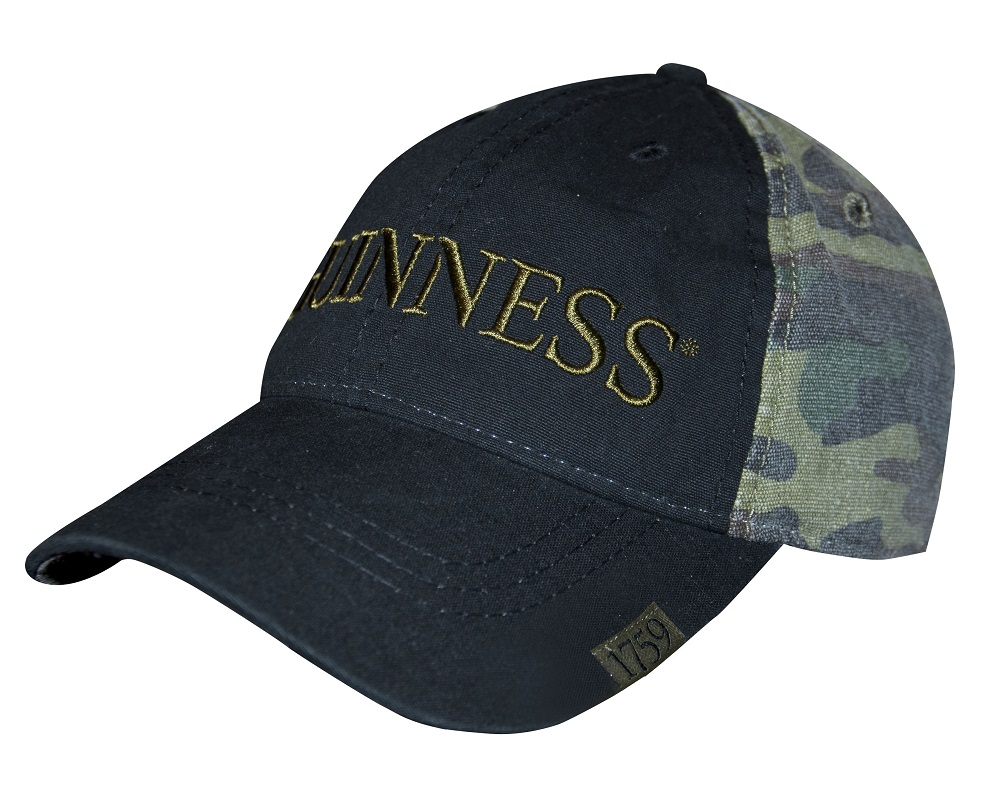 Guinness® Camo Baseball Cap cf2ee6e6f96