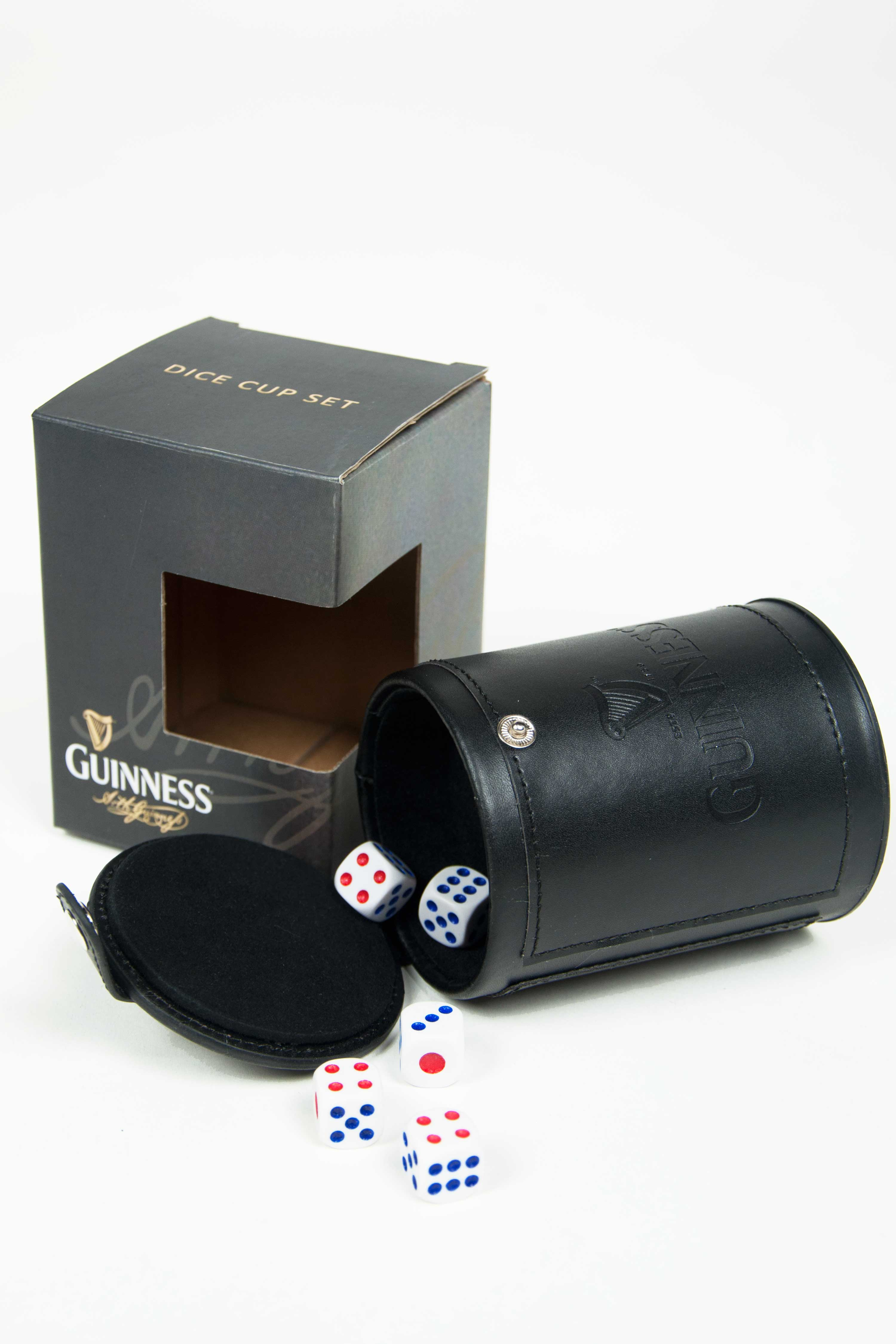 Guinness® Dice Cup Set