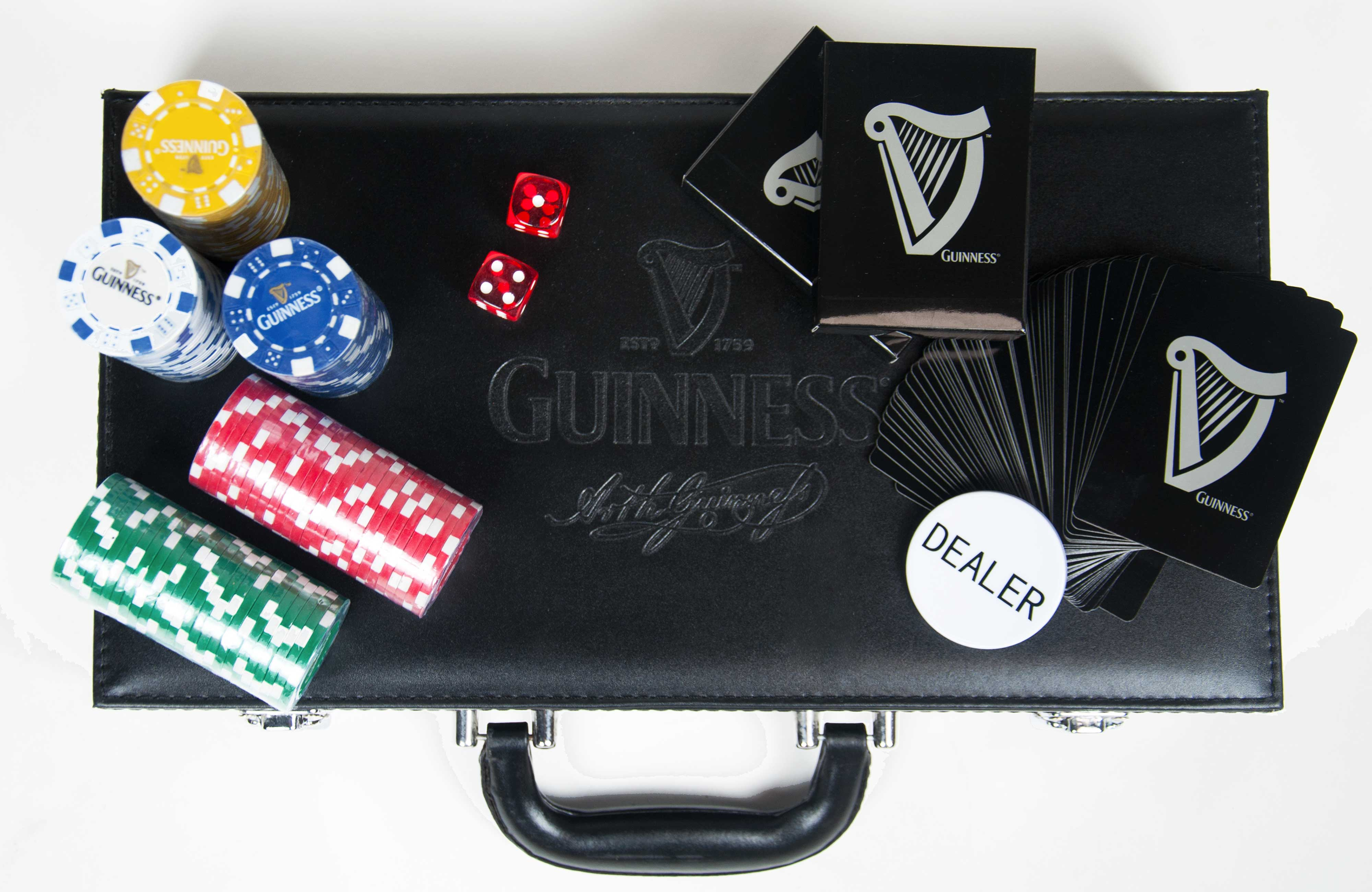 Guinness® Poker Set