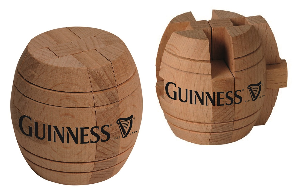 Guinness® Barrel Puzzle