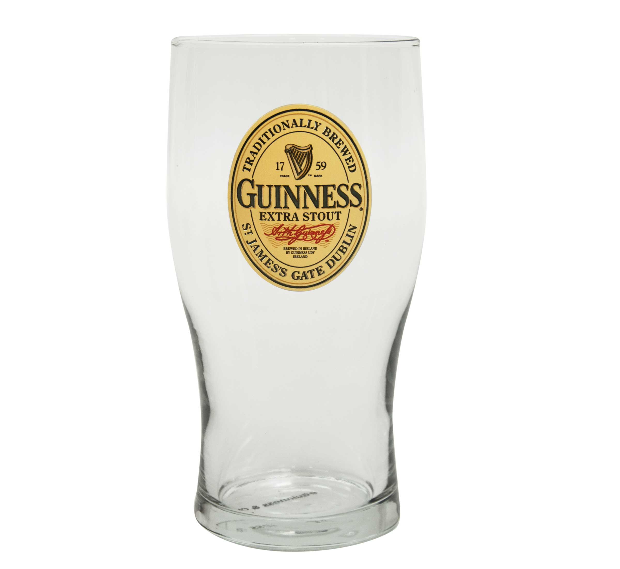 Guinness® Oval Label Pint Glass