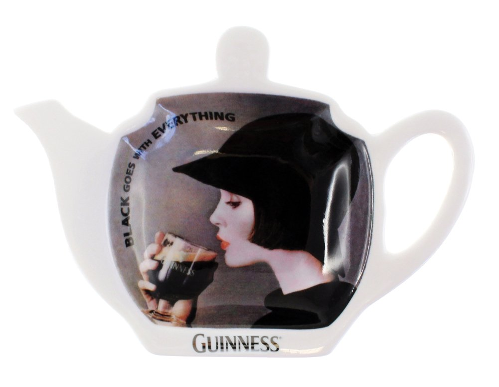 Guinness Lady Tea Bag Holder