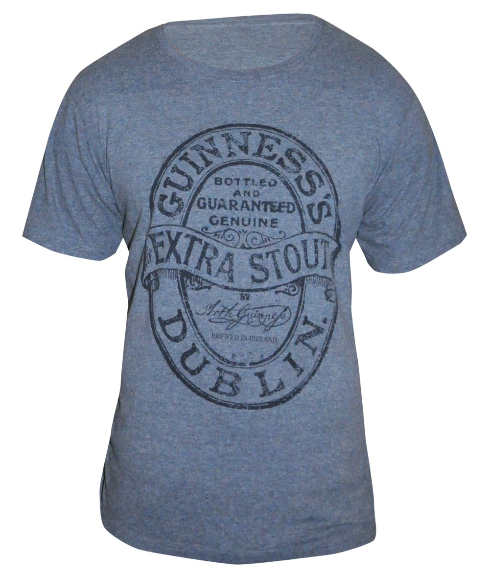 Guinness® Grey Extra Stout Label T-Shirt