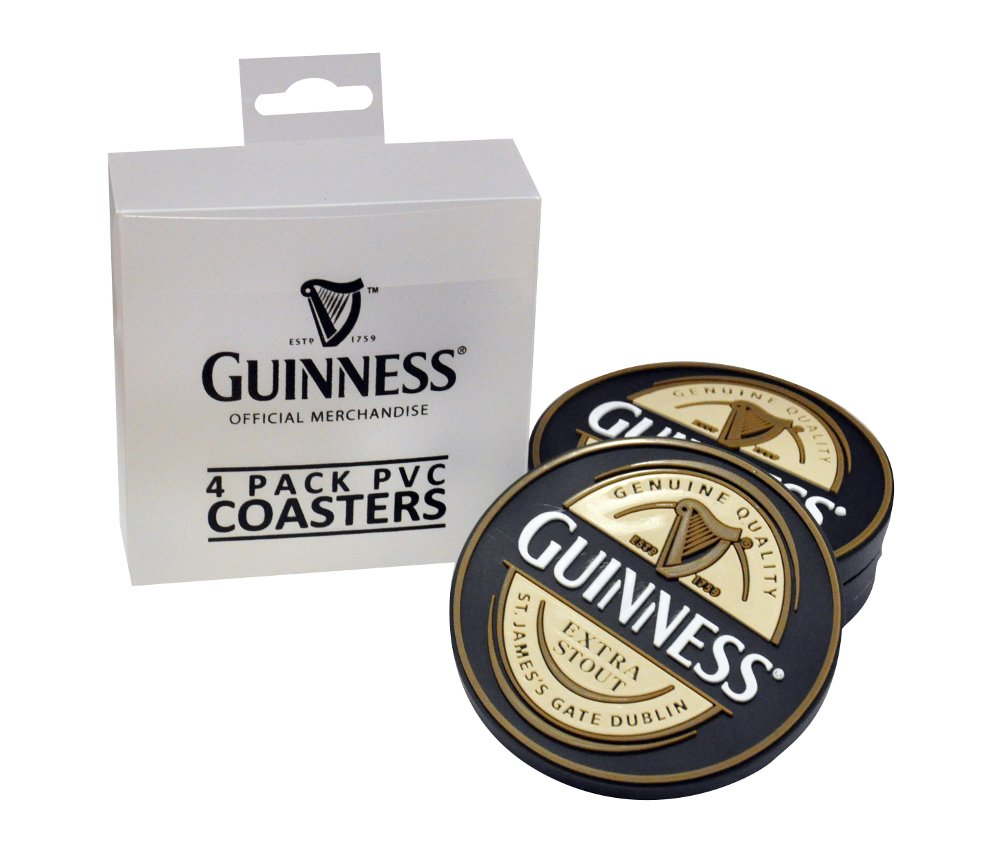 Guinness® Label Coasters Set of 4