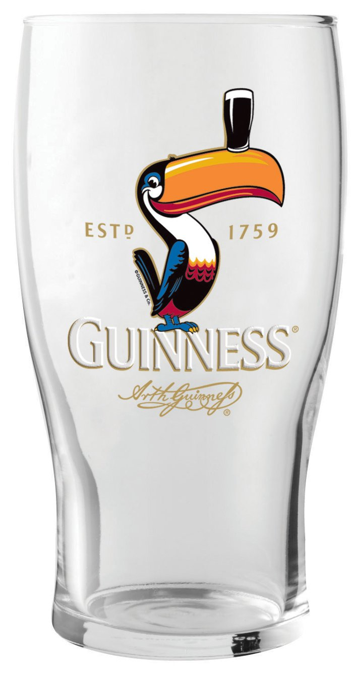 Guinness® Toucan Pint Glass